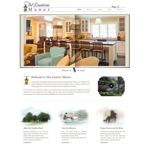 """Lantern Manor - multi-million dollar luxury home needs website:  """"Lantern Manor"""""""