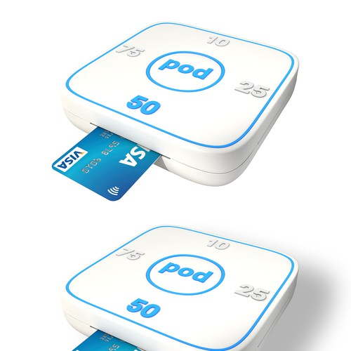 Product Design for a physical device that allows anyone with a card the opportunity to donate
