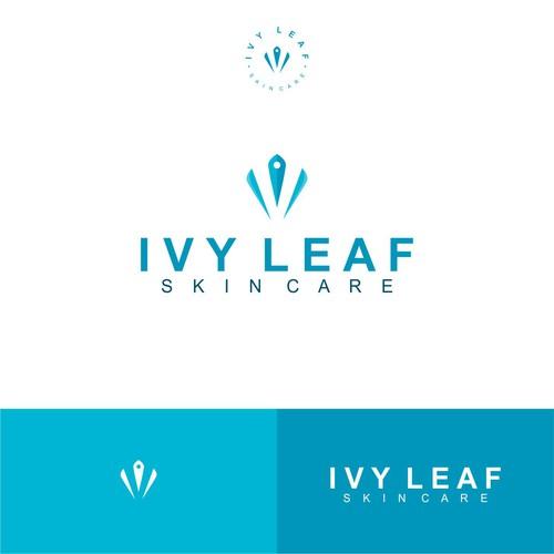 IVY LEAF skincare Logo Design