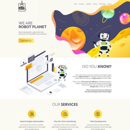 Website for SEO Company