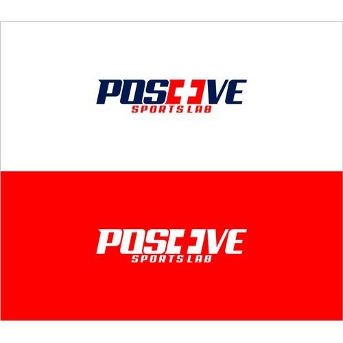 Create a logo for Positive SportsLab, an elite training facility