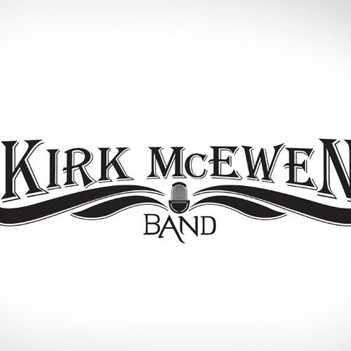 Kirk McEwen Band - Logo Design