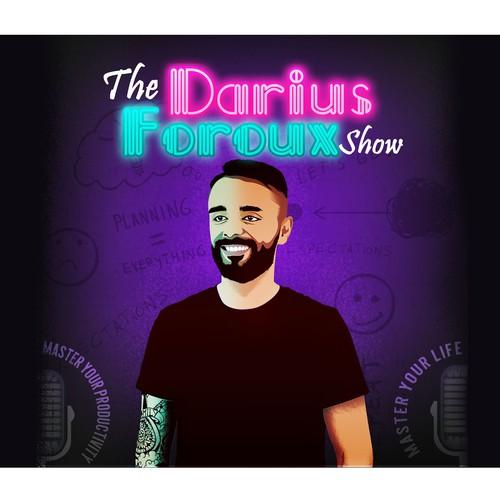 Podcast design for Darius Foroux Show