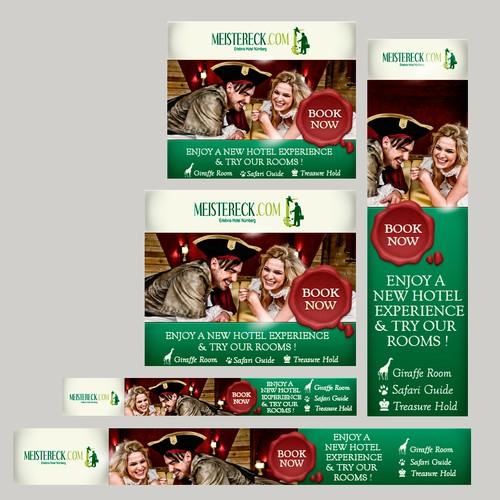 Affiliate Banner Design - Feel like a pirate captain!