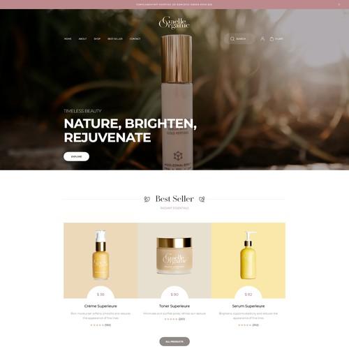 Cosmetics & Beauty website