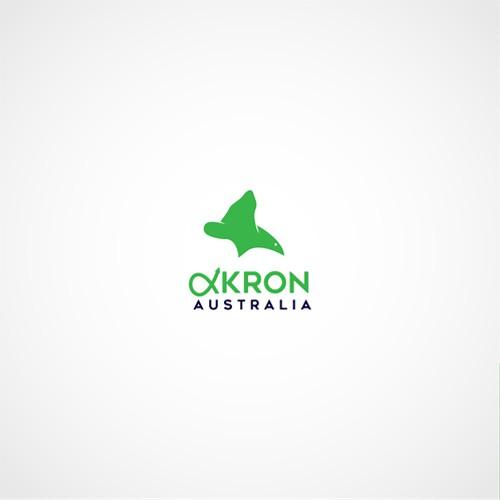 simple and elegant logo for Akron Australia