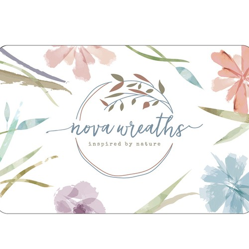 Nova Wreaths Business Card