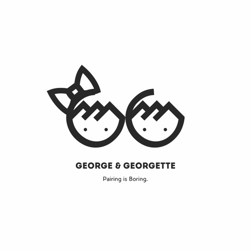 George and Georgette.