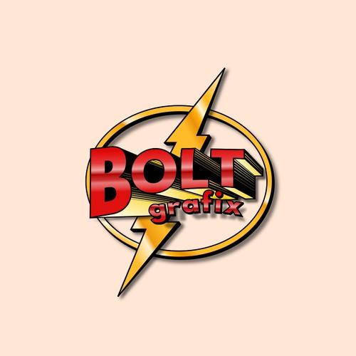 3D Logo in superhero comic books style