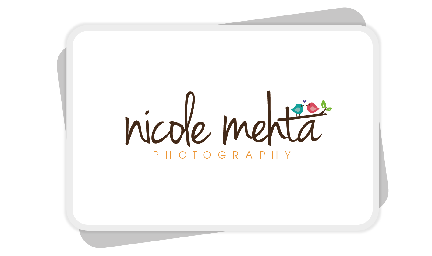 Create the FIRST logo for Nicole Mehta Photography