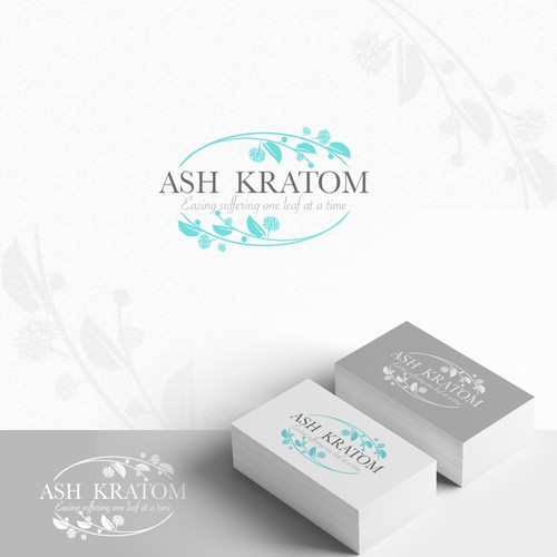 Logo concept for Ash Kratom