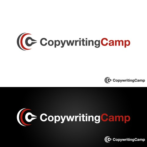 Simple Clean Logo for Copywriting Camp
