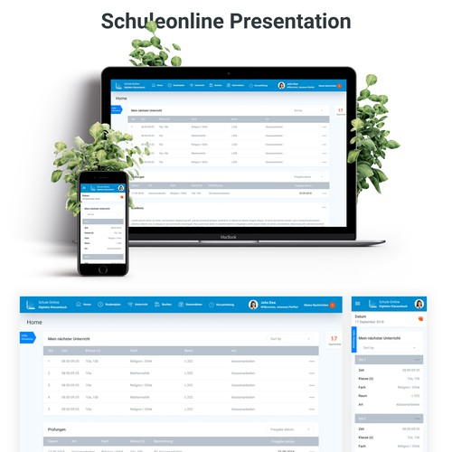 Mobile App for Online School