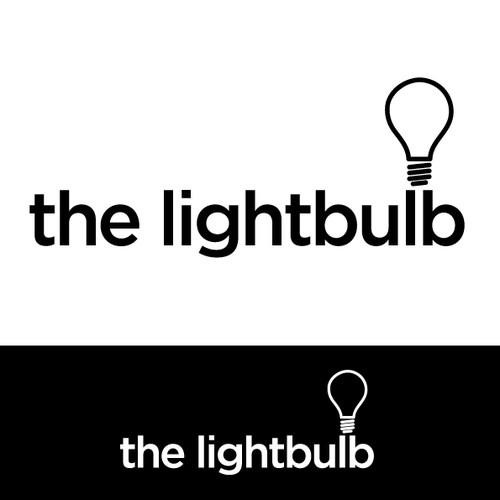"Create an amazing logo for a digital agency called ""the lightbulb"""