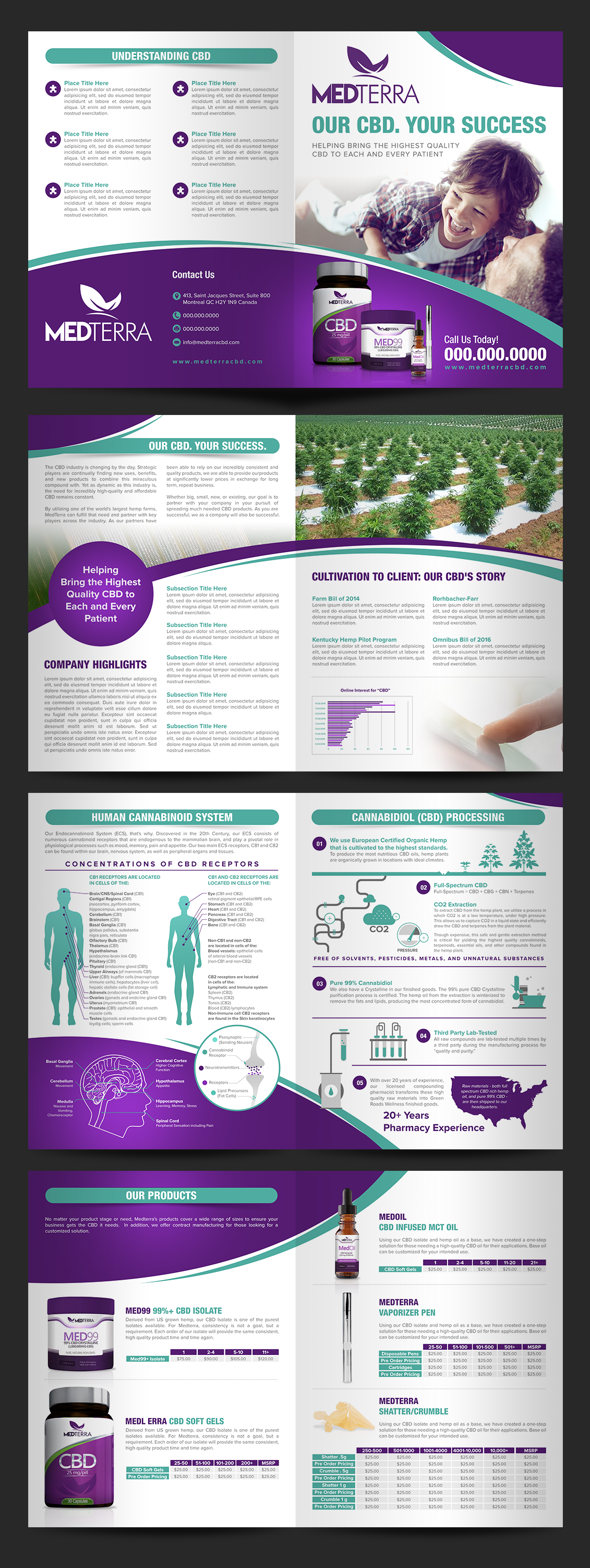 MedTerra - Doctor and Physician Informational Brochure