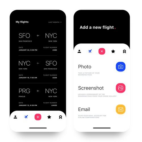 Flights App UI