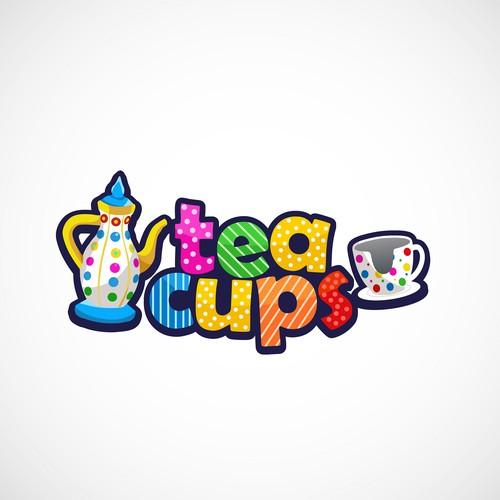 Logo for theme park kids ride