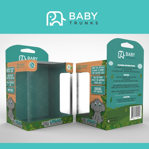 Baby Trunks - Teething Toy for Baby