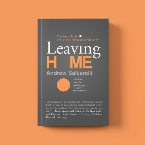 'Leaving Home' book cover