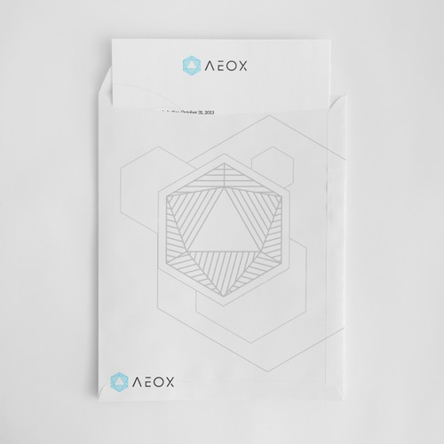 AEOX logo & brand concept