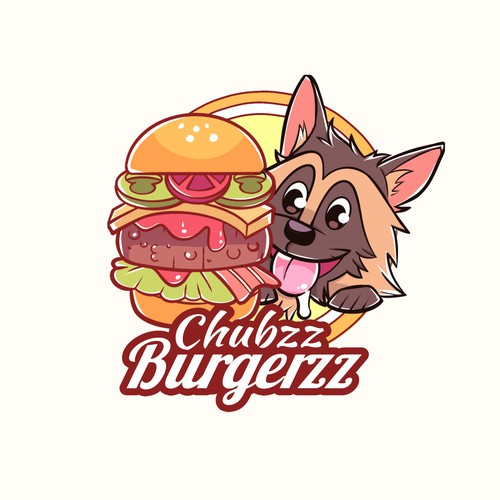 Cute Logo for Burger Business