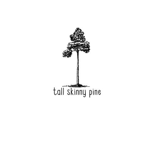Tall skinny pine