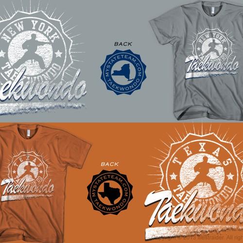 Need Modern Taekwondo Shirt Design