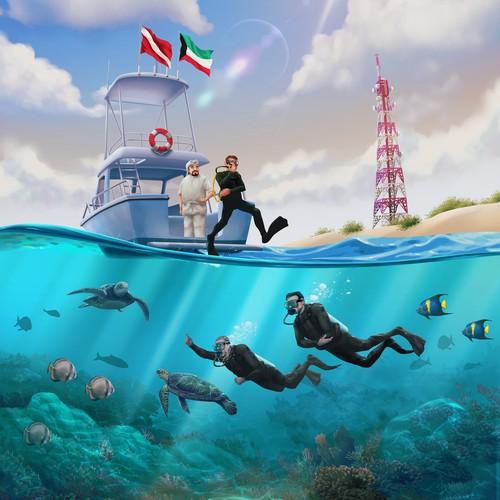 Scuba Diving in Kuwait