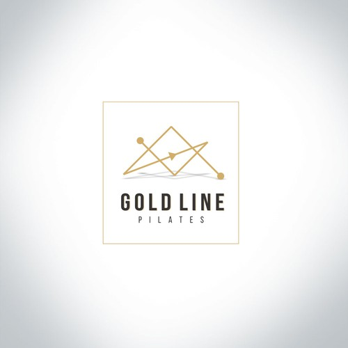 Logo design for Gold Line plates