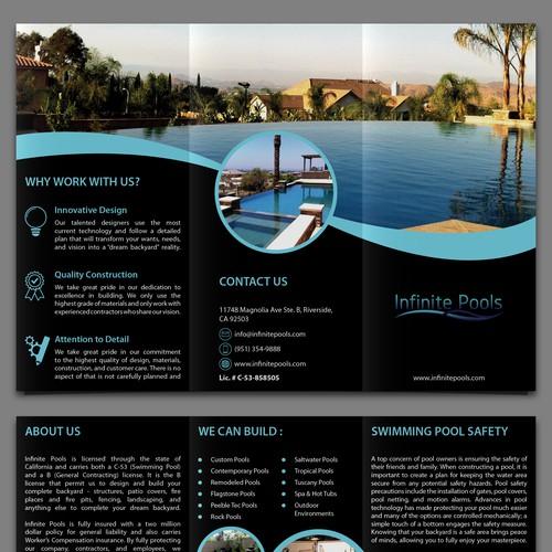 Brochure for Infinite Pools