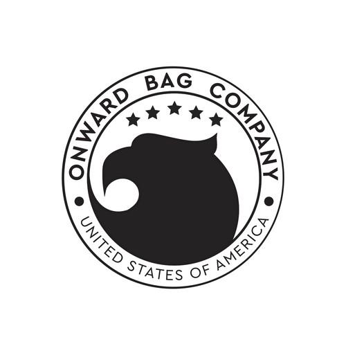Military bag logo concept