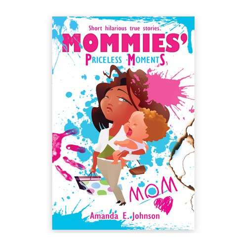 Create the next ebook cover design for Mommies' Priceless Moments