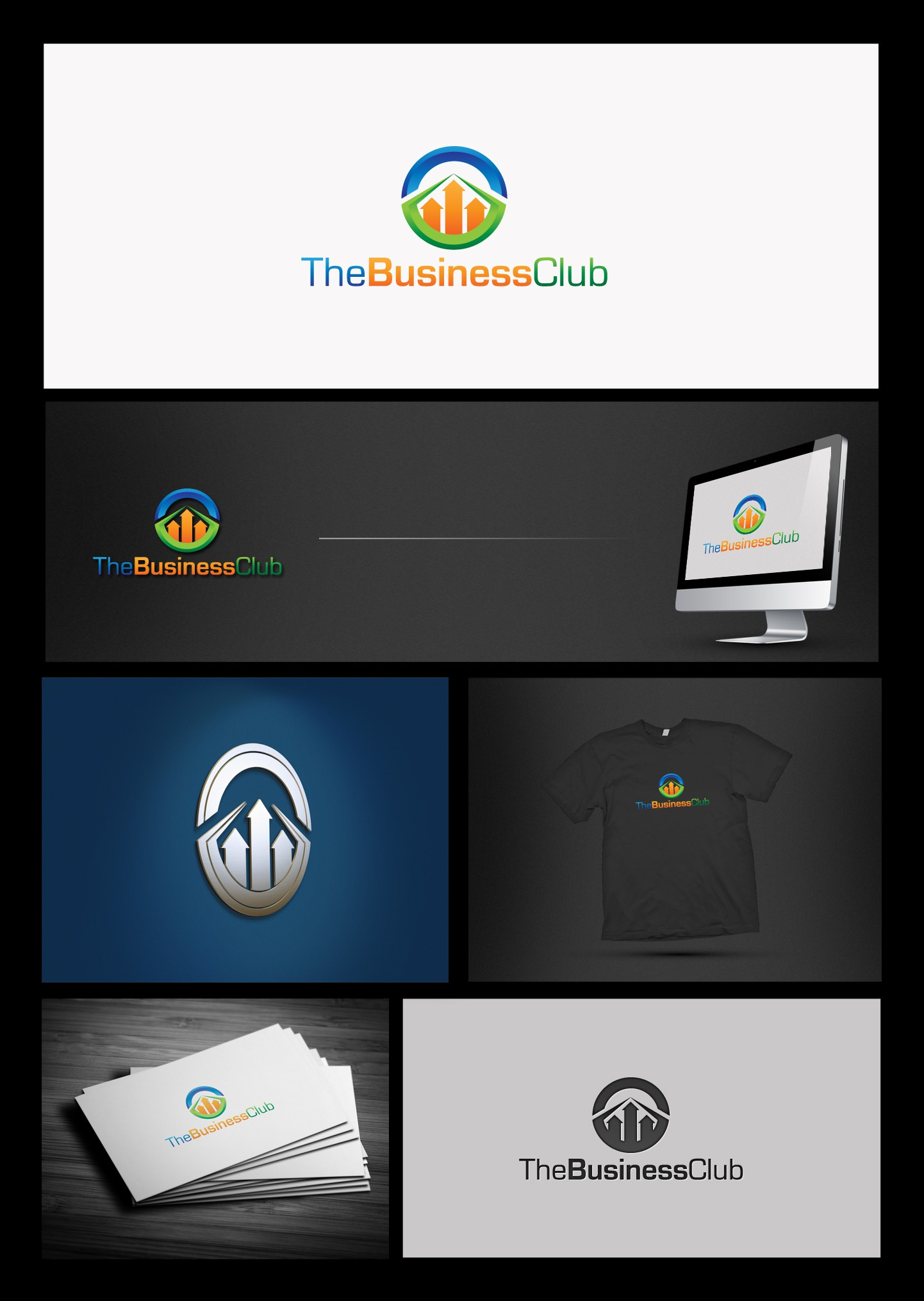 Create the next logo for The Business Club