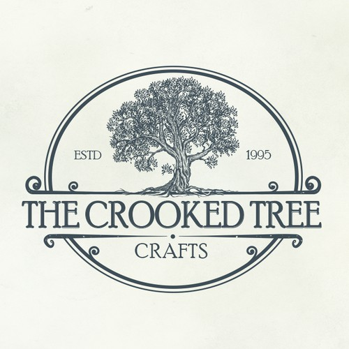 Logo design for the Crooked Tree Crafts