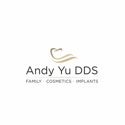 Elegant logo concept for dentist