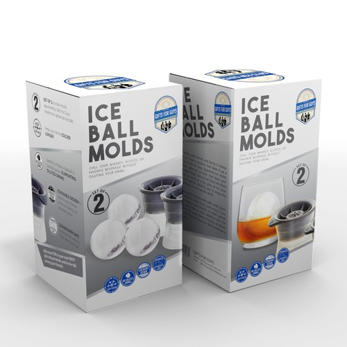 packaging for Ice Ball Molds