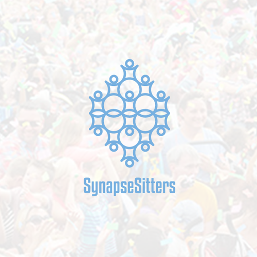 Geometrical logo for SynapseSitters