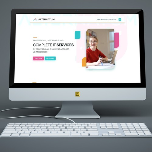 Web Design for IT Services