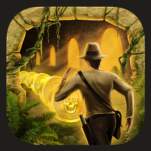 Temple Adventurer Runner Mobile App Icon