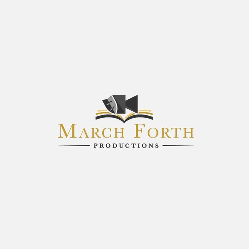 March Forth Productions Logo Design
