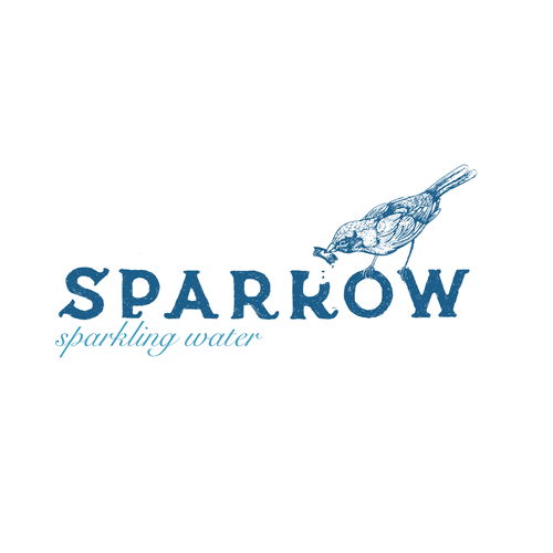 Logo for sparkling water