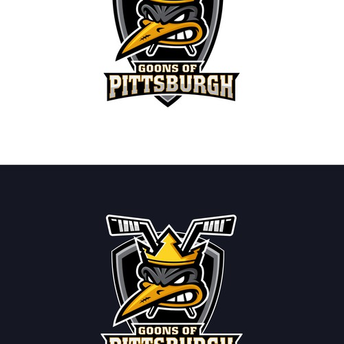 Logo for Goons of Pittsburgh hockey team
