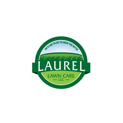 Logo for lawn care business