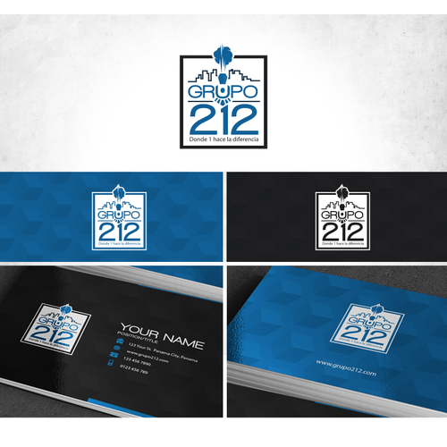 Create the image of a Business Group: Grupo 212 where 1 makes the difference