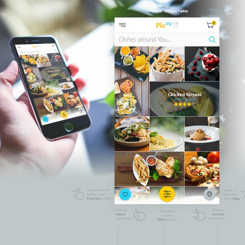App design - for restaurant users