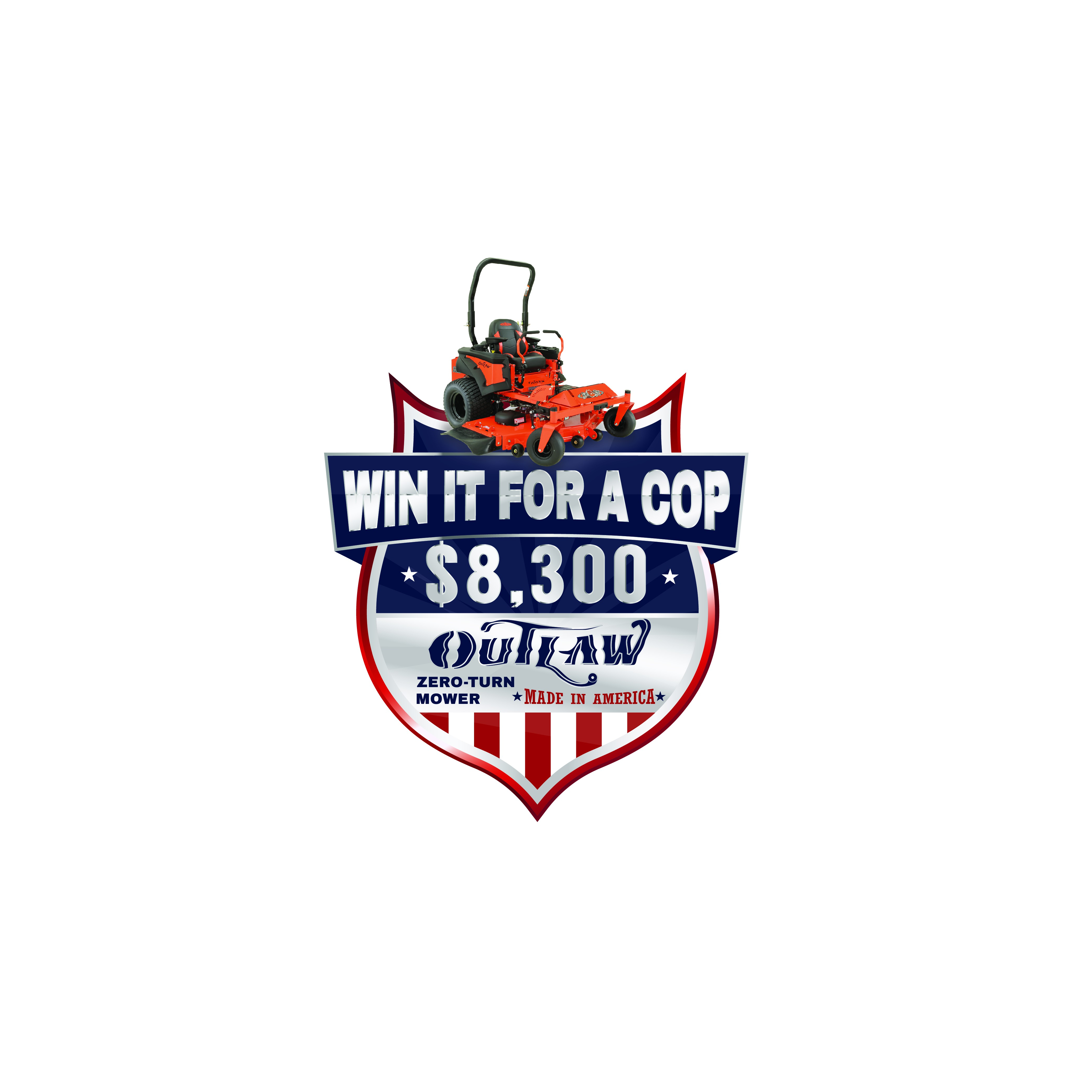 WIN IT FOR A COP...$8,300 PRIZE!