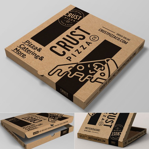 Cardbox pizza package