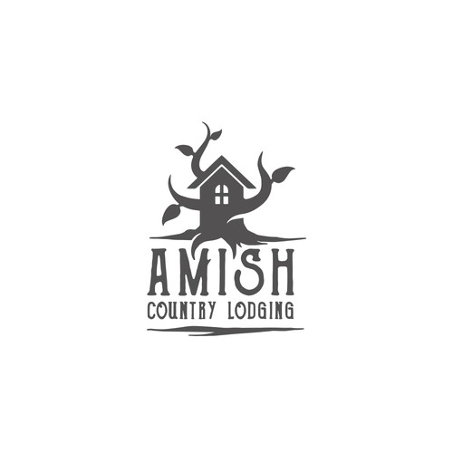 tree house logo concept