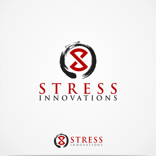 Create a simple modern logo for Stress Innovations