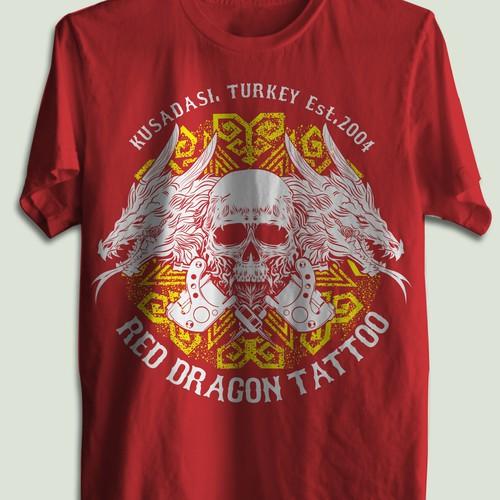 tattoo shirt design